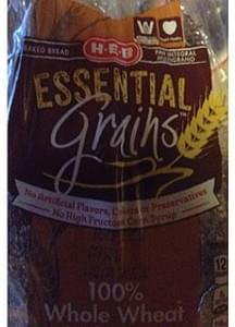 H-E-B Essential Grains Whole Wheat Bread
