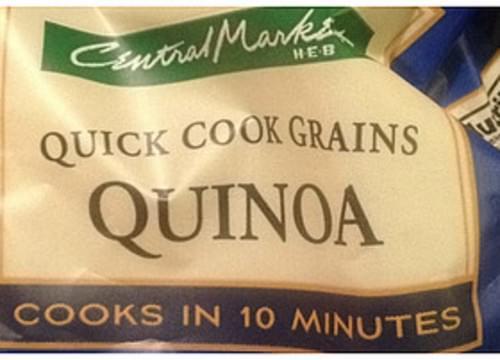 Central Market Quinoa Quick Cook Grains - 83 g