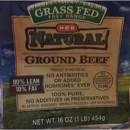 H-E-B Ground Beef - 112 g