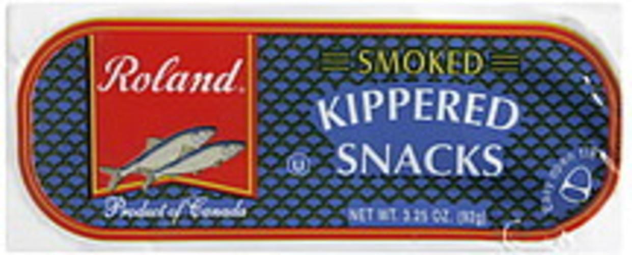 Roland Smoked Kippered Snacks - 3.25 oz