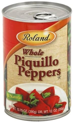 Roland Whole Piquillo Peppers - 13.75 oz