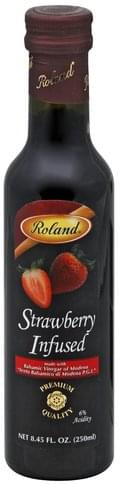 Roland Strawberry Infused Balsamic Vinegar of Modena - 8.45 oz
