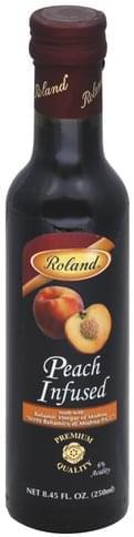 Roland Peach Infused Balsamic Vinegar - 8.45 oz