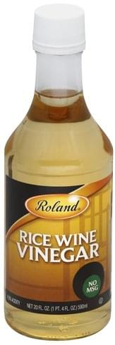 Roland Rice Wine Vinegar - 20 oz