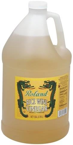 Roland Rice Wine Vinegar - 1 gl
