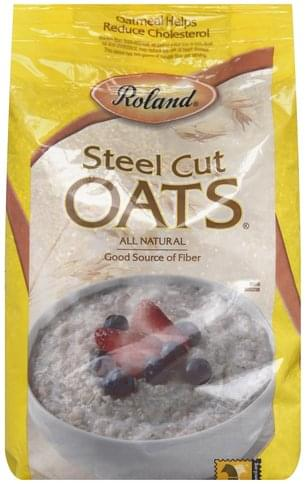 Roland Steel Cut Oats - 72 oz
