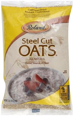 Roland Steel Cut Oats - 32 oz