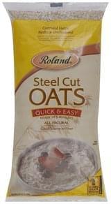 Roland Oats Steel Cut, Quick & Easy
