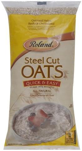 Roland Steel Cut, Quick & Easy Oats - 32 oz