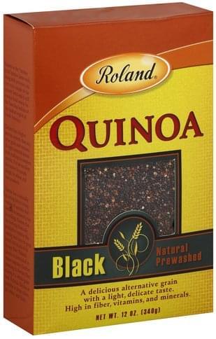 Roland Black Quinoa - 12 oz