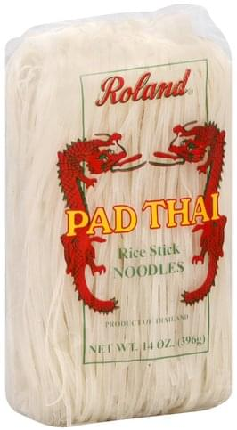 Roland Rice Stick, Pad Thai Noodles - 14 oz