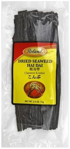 Roland Dried, Hai Dai Seaweed - 2.5 oz