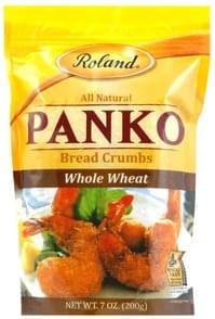 Roland Bread Crumbs Panko, Whole Wheat