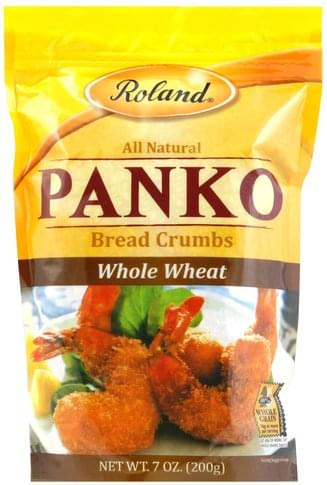Roland Panko, Whole Wheat Bread Crumbs - 7 oz