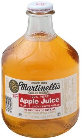 Martinelli's 100% Pure, Apple Juice - 1