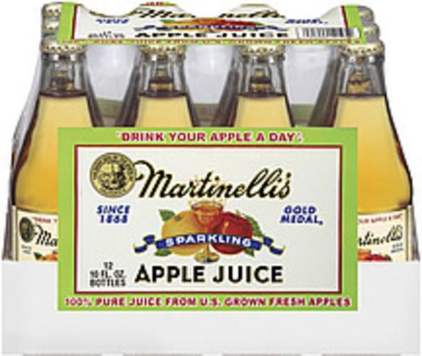 Sparkling 10 Fl Oz 100% Apple Juice