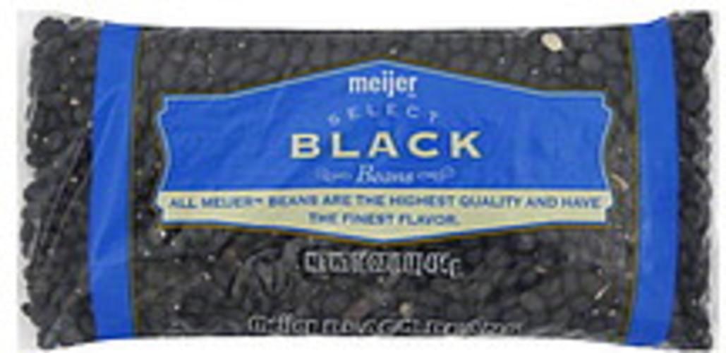 Meijer Black Beans - 16 oz