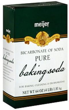 Meijer Baking Soda Pure, Bicarbonate of Soda