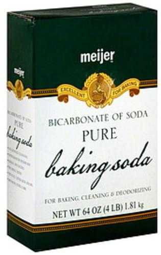Meijer Pure, Bicarbonate of Soda Baking Soda - 64 oz