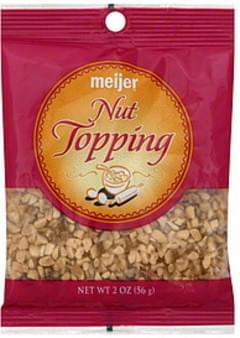 Meijer Nut Topping