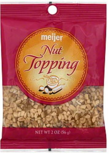 Meijer Nut Topping - 2 oz