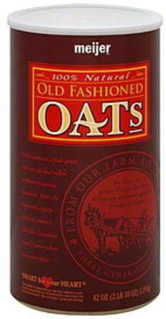 Meijer Old Fashioned Oats