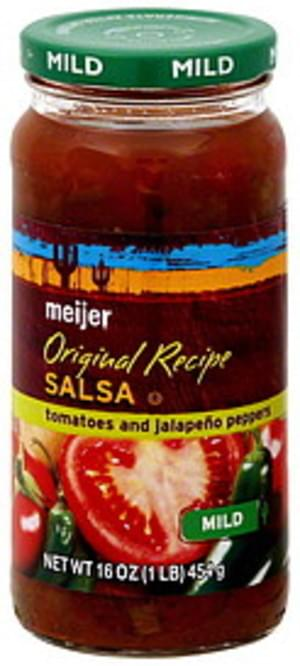 Meijer Original Recipe, Mild Salsa - 16 oz
