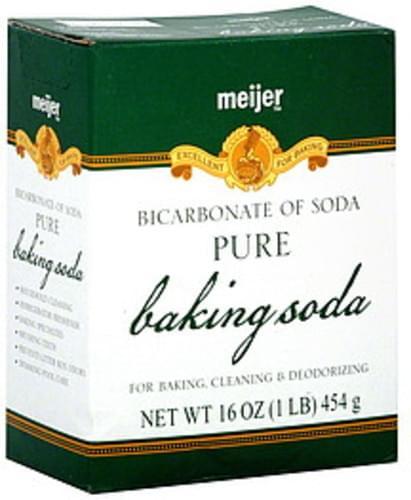 Meijer Baking Soda - 16 oz