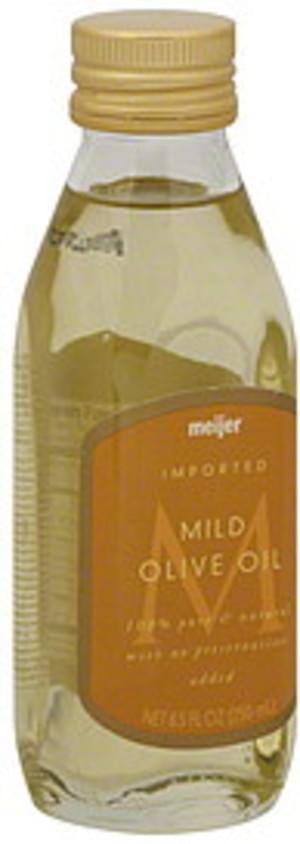 Meijer Mild Olive Oil - 8.5 oz