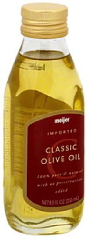 Meijer Classic Olive Oil - 8.5 oz