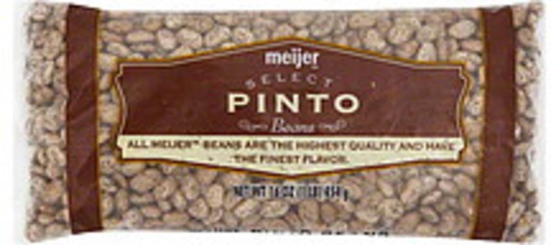 Meijer Pinto Beans - 16 oz