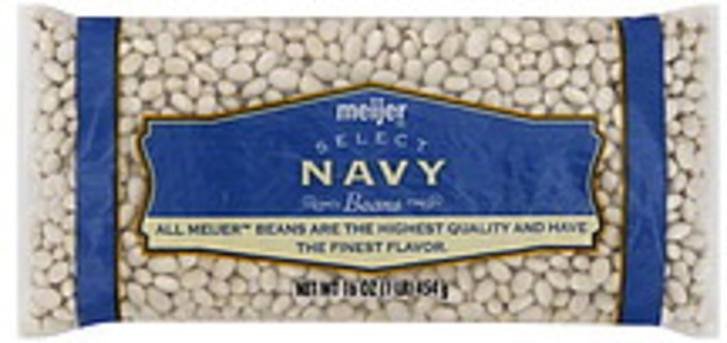 Meijer Navy Beans - 16 oz