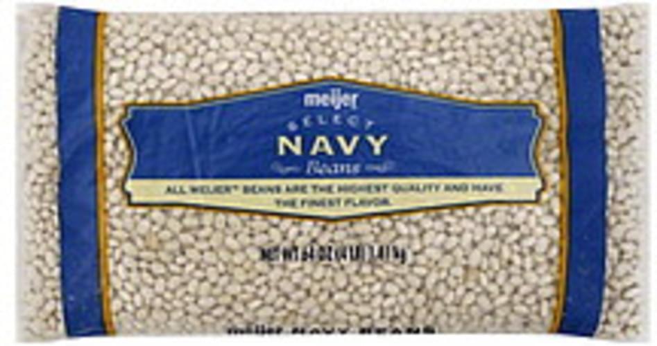 Meijer Navy Beans - 64 oz
