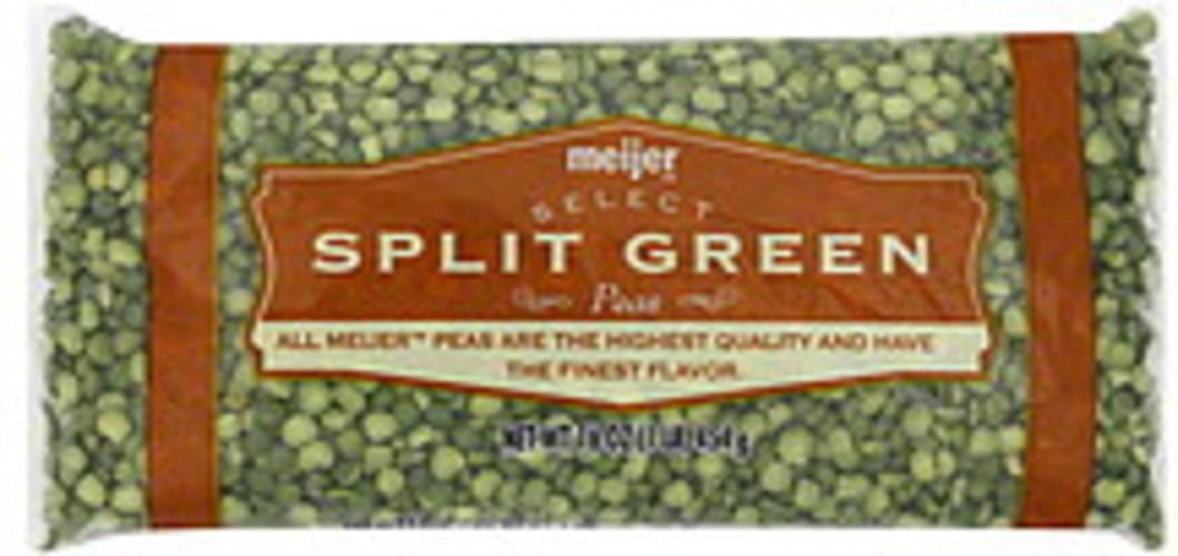 Meijer Split Green Peas - 16 oz