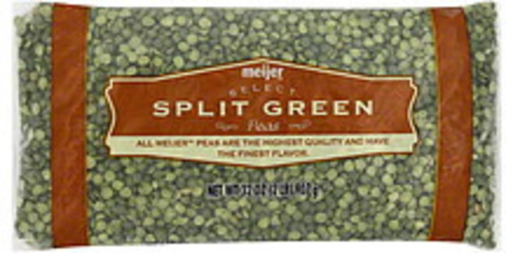 Meijer Split Green Peas - 32 oz