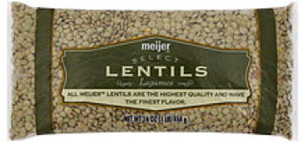 Meijer Lentils - 16 oz