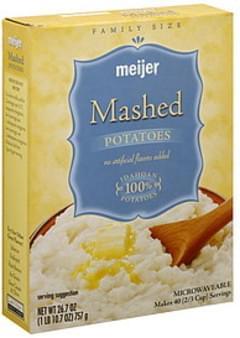 Meijer Mashed Potatoes