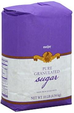 Meijer Sugar Pure Granulated