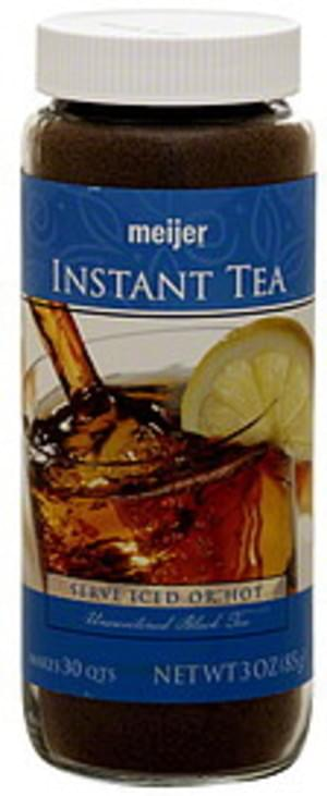 Meijer Unsweetened Black Instant Tea - 3 oz