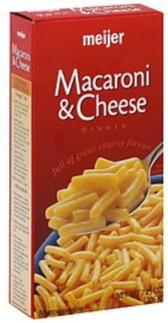 Meijer Macaroni & Cheese Dinner