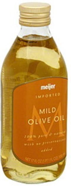 Meijer Olive Oil Mild, Imported