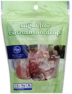 Kroger Candy Cinnamon Drips, Sugar Free