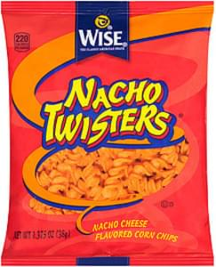 Wise Wise Nacho Twisters Corn Chips Nacho Twisters