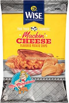 Wise Wise Food Truck Favorites Mackin' Cheese Potato Chips Mackin' Cheese