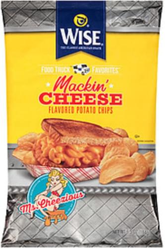 Wise Mackin' Cheese Wise Food Truck Favorites Mackin' Cheese Potato Chips - 0