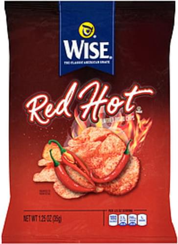 Wise Red Hot Wise Red Hot Potato Chips - 0