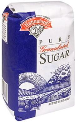Hannaford Sugar Pure, Granulated