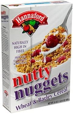 Hannaford Nutty Nuggets Wheat & Barley Cereal