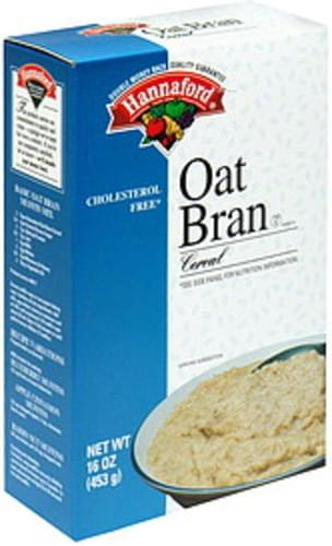 Hannaford Oat Bran Cereal - 16 oz