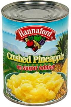 Hannaford Pineapple Crushed